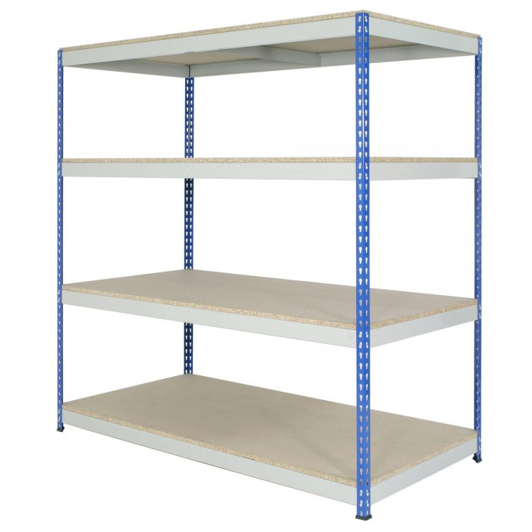 Industrial Metal Shelving Unit - Image